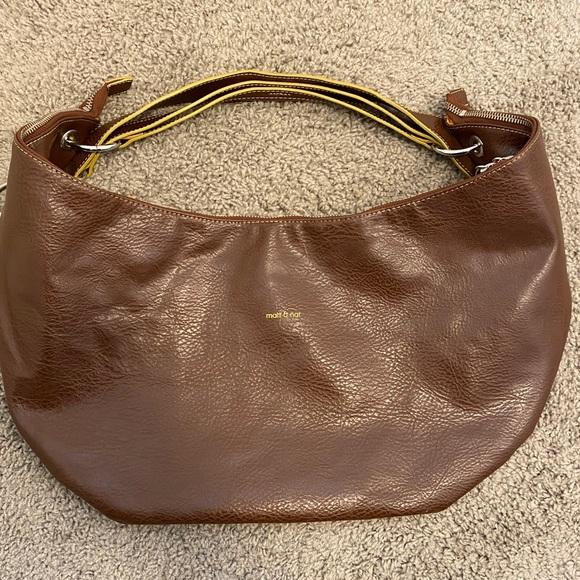 Matt & Nat Vegan Leather Hobo Bolo Shoulder Bag